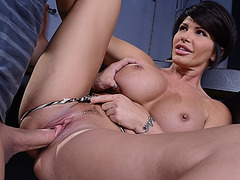 Huge hooters milf Shay Fox fucked hard