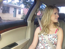 Blondie Dixie Belle gets picked up by a random stranger and fucked