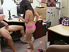 Crazy Latina agrees to fuck for money