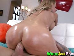 Big butt slut Nikki Sexx asshole smashed