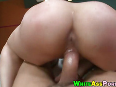 Bubble butt Sarah Vandella drilled hard