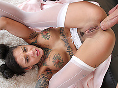 Sexy babe Bonnie Rotten wanted to fuck hard