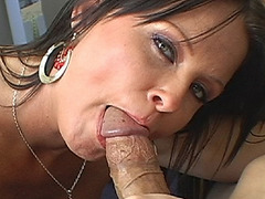 Maya Divine gave a nice blowjob