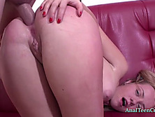 Ruby gets her snatch hole and ass used