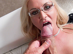Euro chick Dora gets pussy slammed hard by Roccos huge dick