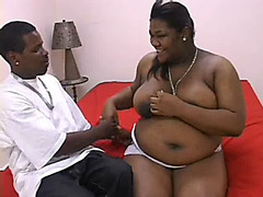 I and my black fat pregnant slut having fun