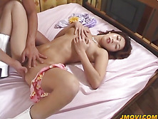 Hot Sakura gives head and gets fucked hard in different positions