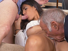 Victoria Valencia awesome fuck with old men