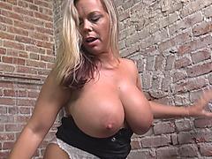 Amber Lynn visiting her big black cock husband in prison