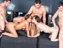 Amirah Adara and Misha Cross Have an Orgy