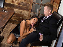 Bill Baileys big cock suck by house wife Ava Addams