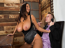 Ava Addams sat on Bill Baileys big throbbing cock