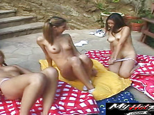 Lee Stone is lucky to have 12 gals waiting ready to ride his cock