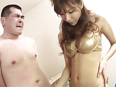 Sweet Serina Hayakawa loves to suck and swallow
