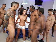 Amara Romani Gets Gangbanged By Black Cocks