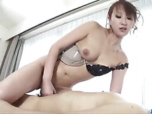 Massage goes nasty for big tits Japanese Anna Mizukawa