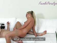 Eating Pussy At Job Interview
