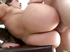 This latin momma loves to take the hard cock.