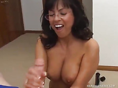 Adrianna Analese Jerks Off Handjob Harry