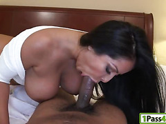 Phat ass Latina pounded with big schlong