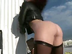 Jayden shows off her amazing booty.
