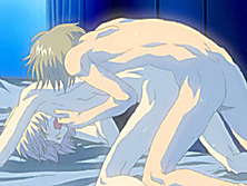 Slender hentai boy gets his tight ass penetrated