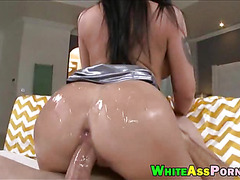 Booby Melina Mason bounces her big booty