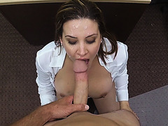 Slamming a hot and pretty amateur that needs cash