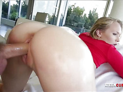 Phat booty Dakota James nailed real deep