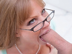 Maddy began jerking Xander's cock