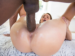 Lola Foxx pounded with huge hard shaft