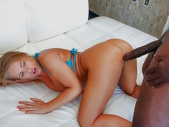 Britney Young banged by big black cock