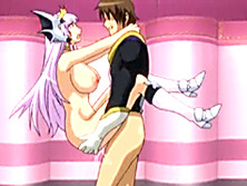 Princess hentai with bigboobs standing fucked wet pussy