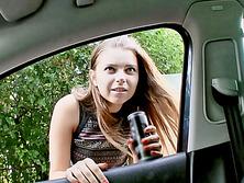 Marina Visconti fuck stranger in the van