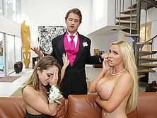 Remy LaCroix and Nikki Benz feeling very horny