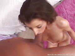 Blowjob auditions done the right way are much more sexy!