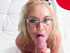 Horny babe Dora gets fucked from behind by Roccos big cock  filmed in POV