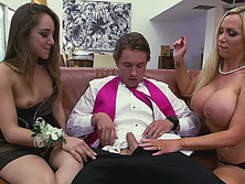Stepmom shows how to have orgasms and how to suck a dick