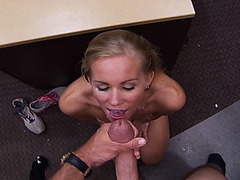 Quick and Easy with a Blonde Bimbo