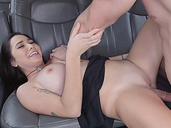 Lovely horny babe Karlee Grey getting horny