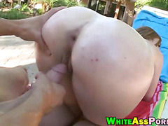 Huge booty Jodi Taylor banged outdoors