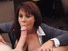 Milf pawns her pussy for her hubbys bail