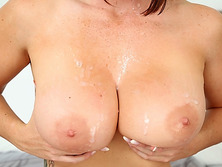 Alison Tyler is a busty mouthfull