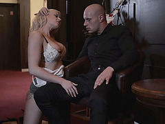 Seductive Victoria Redd shows off her body and gets her ass fucked untill she cummed on