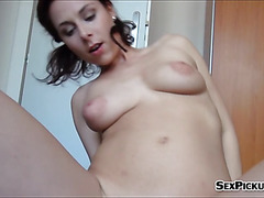 Euro slut Antonia Sainz fucked for cash