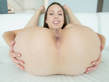 Jade Nile loves her som fat dick to swallow whole in her holes