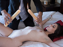 Teen Jenna Reid gets her fetish fantasy realized