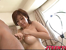 Naho busty Asian angel in staggering scenes