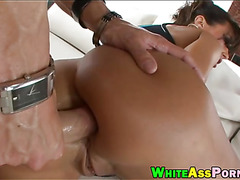 Busty MILF Lisa Ann with huge tits gets analed by big dick
