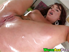 Savannah Fox banged her big hot asshole by huge dick